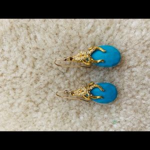 Alexis Bittar turquoise drop earrings